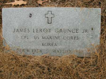 GAUNCE, JR.  (VETERAN KOR), JAMES LEROY - Boone County, Arkansas | JAMES LEROY GAUNCE, JR.  (VETERAN KOR) - Arkansas Gravestone Photos