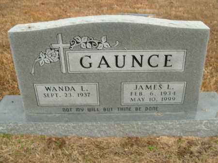 GAUNCE, JAMES L. - Boone County, Arkansas | JAMES L. GAUNCE - Arkansas Gravestone Photos