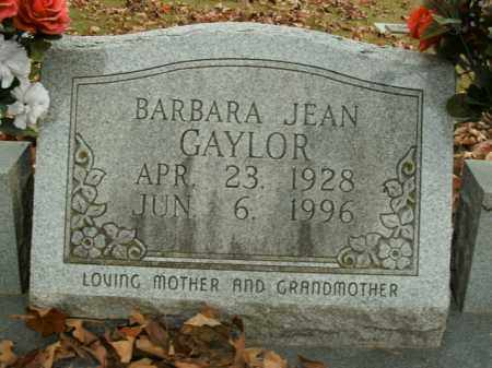 GAYLOR, BARBARA JEAN - Boone County, Arkansas | BARBARA JEAN GAYLOR - Arkansas Gravestone Photos