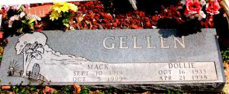 GELLEN, DOLLIE - Boone County, Arkansas | DOLLIE GELLEN - Arkansas Gravestone Photos