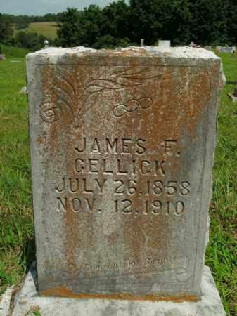 GELLICK, JAMES F. - Boone County, Arkansas | JAMES F. GELLICK - Arkansas Gravestone Photos