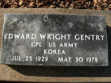 GENTRY  (VETERAN KOR), EDWARD WRIGHT - Boone County, Arkansas | EDWARD WRIGHT GENTRY  (VETERAN KOR) - Arkansas Gravestone Photos