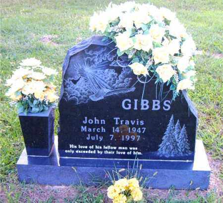 GIBBS, JOHN TRAVIS - Boone County, Arkansas | JOHN TRAVIS GIBBS - Arkansas Gravestone Photos