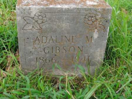 GIBSON, ADALINE M. - Boone County, Arkansas | ADALINE M. GIBSON - Arkansas Gravestone Photos