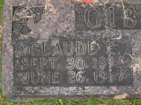 GIBSON, CLAUDE ETHRIDGE - Boone County, Arkansas | CLAUDE ETHRIDGE GIBSON - Arkansas Gravestone Photos