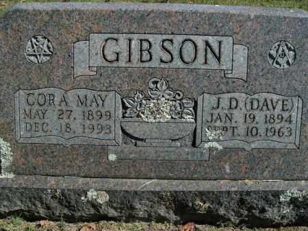 GIBSON, CORA MAY - Boone County, Arkansas | CORA MAY GIBSON - Arkansas Gravestone Photos