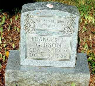 GIBSON, FRANCIS L. - Boone County, Arkansas | FRANCIS L. GIBSON - Arkansas Gravestone Photos
