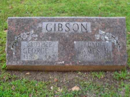 GIBSON, JAMES H. - Boone County, Arkansas | JAMES H. GIBSON - Arkansas Gravestone Photos