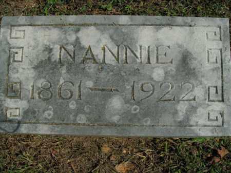 GIBSON, NANNIE - Boone County, Arkansas | NANNIE GIBSON - Arkansas Gravestone Photos