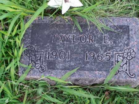 GIBSON, TAYLOR E. - Boone County, Arkansas | TAYLOR E. GIBSON - Arkansas Gravestone Photos