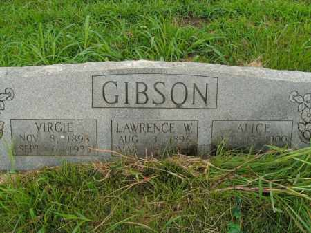 GIBSON, VIRGIE - Boone County, Arkansas | VIRGIE GIBSON - Arkansas Gravestone Photos