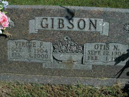 GIBSON, OTIS N. - Boone County, Arkansas | OTIS N. GIBSON - Arkansas Gravestone Photos