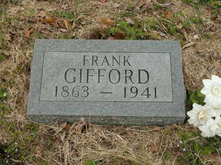 GIFFORD, FRANK - Boone County, Arkansas | FRANK GIFFORD - Arkansas Gravestone Photos