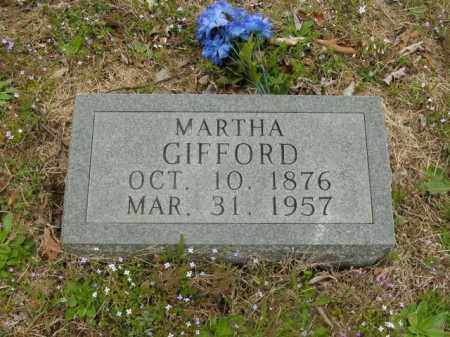 GIFFORD, MARTHA - Boone County, Arkansas | MARTHA GIFFORD - Arkansas Gravestone Photos
