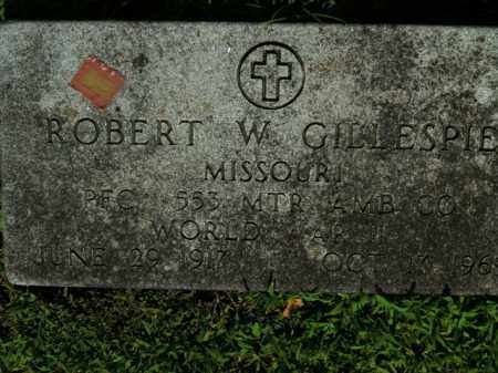 GILLESPIE  (VETERAN WWII), ROBERT W. - Boone County, Arkansas | ROBERT W. GILLESPIE  (VETERAN WWII) - Arkansas Gravestone Photos