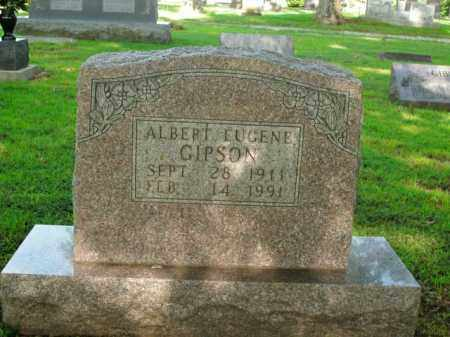 GIPSON, ALBERT EUGENE - Boone County, Arkansas | ALBERT EUGENE GIPSON - Arkansas Gravestone Photos