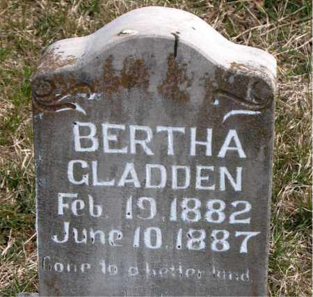 GLADDEN, BERTHA - Boone County, Arkansas | BERTHA GLADDEN - Arkansas Gravestone Photos