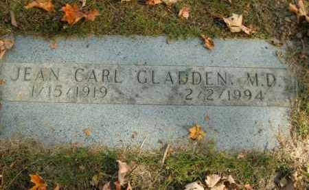 GLADDEN, JEAN CARL, M.D. - Boone County, Arkansas | JEAN CARL, M.D. GLADDEN - Arkansas Gravestone Photos