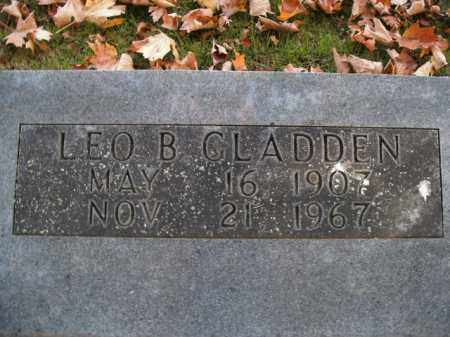 GLADDEN, LEO B. - Boone County, Arkansas | LEO B. GLADDEN - Arkansas Gravestone Photos