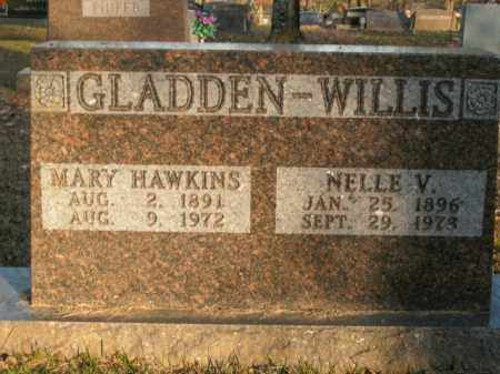HAWKINS GLADDEN, MARY - Boone County, Arkansas | MARY HAWKINS GLADDEN - Arkansas Gravestone Photos