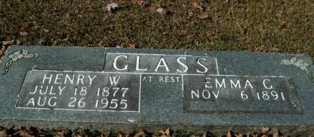 GLASS, HENRY W. - Boone County, Arkansas | HENRY W. GLASS - Arkansas Gravestone Photos