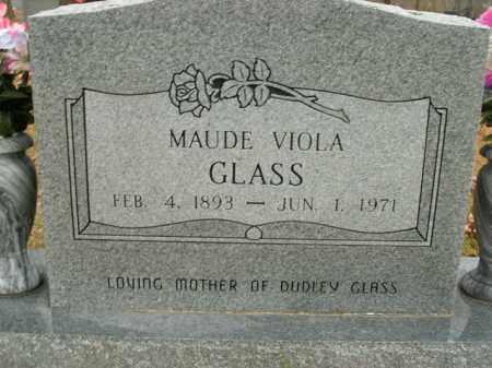 GLASS, MAUDE VIOLA - Boone County, Arkansas | MAUDE VIOLA GLASS - Arkansas Gravestone Photos
