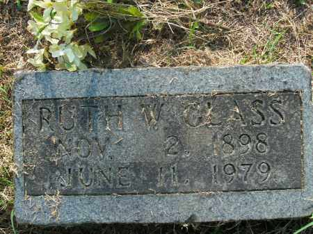 GLASS, RUTH W. - Boone County, Arkansas | RUTH W. GLASS - Arkansas Gravestone Photos