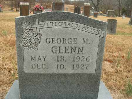 GLENN, GEORGE M. - Boone County, Arkansas | GEORGE M. GLENN - Arkansas Gravestone Photos