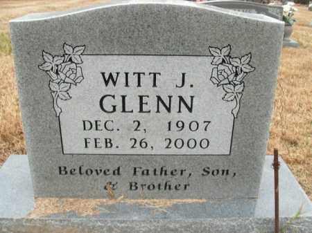 GLENN, WITT JENNINGS - Boone County, Arkansas | WITT JENNINGS GLENN - Arkansas Gravestone Photos
