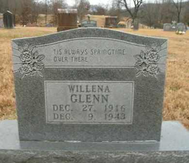 GLENN, WILLENA - Boone County, Arkansas | WILLENA GLENN - Arkansas Gravestone Photos
