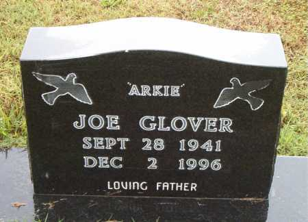 GLOVER, JOE (ARKIE) - Boone County, Arkansas | JOE (ARKIE) GLOVER - Arkansas Gravestone Photos