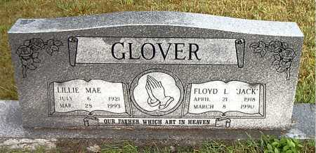 GLOVER, FLOYD  L (JACK) - Boone County, Arkansas | FLOYD  L (JACK) GLOVER - Arkansas Gravestone Photos