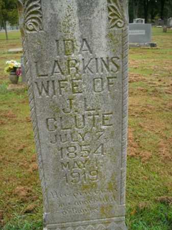 GLUTE, IDA - Boone County, Arkansas | IDA GLUTE - Arkansas Gravestone Photos