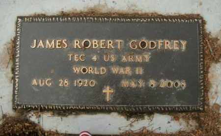 GODFREY  (VETERAN WWII), JAMES ROBERT - Boone County, Arkansas | JAMES ROBERT GODFREY  (VETERAN WWII) - Arkansas Gravestone Photos