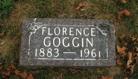 GOGGIN, FLORENCE - Boone County, Arkansas | FLORENCE GOGGIN - Arkansas Gravestone Photos