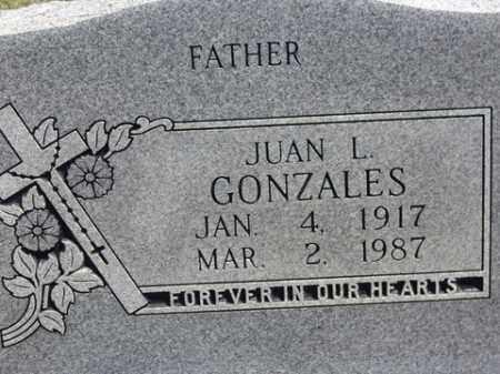 GONZALES (VETERAN WWII), JUAN L. - Boone County, Arkansas | JUAN L. GONZALES (VETERAN WWII) - Arkansas Gravestone Photos