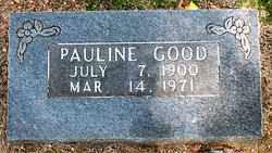 GOOD, PAULINE - Boone County, Arkansas | PAULINE GOOD - Arkansas Gravestone Photos