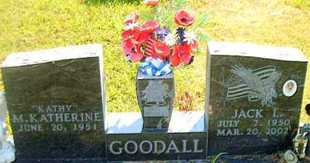 GOODALL, JACK  L. - Boone County, Arkansas | JACK  L. GOODALL - Arkansas Gravestone Photos