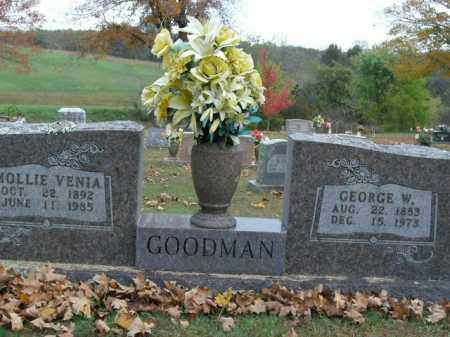 GOODMAN, MOLLIE VENIA - Boone County, Arkansas | MOLLIE VENIA GOODMAN - Arkansas Gravestone Photos