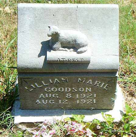 GOODSON, LILLIAN MARIE - Boone County, Arkansas | LILLIAN MARIE GOODSON - Arkansas Gravestone Photos