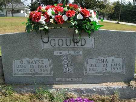 GOURD, IRMA F. - Boone County, Arkansas | IRMA F. GOURD - Arkansas Gravestone Photos