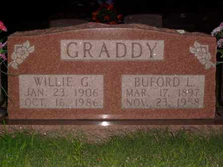 GRADDY, WILLIE G. - Boone County, Arkansas | WILLIE G. GRADDY - Arkansas Gravestone Photos