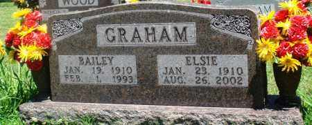 GRAHAM, ELSIE - Boone County, Arkansas | ELSIE GRAHAM - Arkansas Gravestone Photos