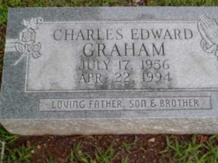 GRAHAM, CHARLES EDWARD - Boone County, Arkansas | CHARLES EDWARD GRAHAM - Arkansas Gravestone Photos
