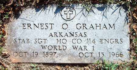 GRAHAM    (VETERAN WWI), ERNEST O. - Boone County, Arkansas | ERNEST O. GRAHAM    (VETERAN WWI) - Arkansas Gravestone Photos