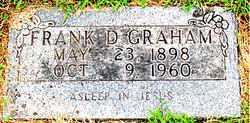 GRAHAM, FRANK D. - Boone County, Arkansas | FRANK D. GRAHAM - Arkansas Gravestone Photos