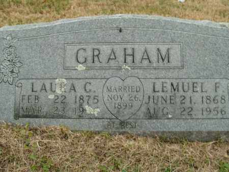 GRAHAM, LAURA C. - Boone County, Arkansas | LAURA C. GRAHAM - Arkansas Gravestone Photos