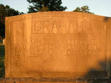 GRAHAM, FANNIE - Boone County, Arkansas | FANNIE GRAHAM - Arkansas Gravestone Photos