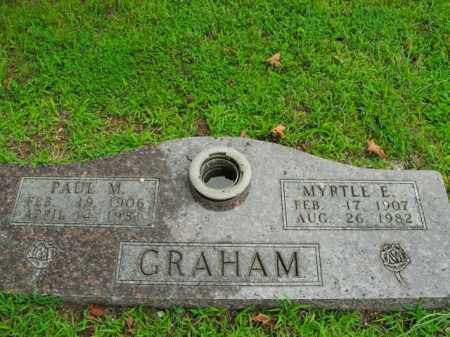 GRAHAM, MYRTLE E. - Boone County, Arkansas | MYRTLE E. GRAHAM - Arkansas Gravestone Photos