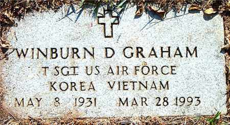 GRAHAM  (VETERAN 2 WARS), WILBURN  D. - Boone County, Arkansas | WILBURN  D. GRAHAM  (VETERAN 2 WARS) - Arkansas Gravestone Photos
